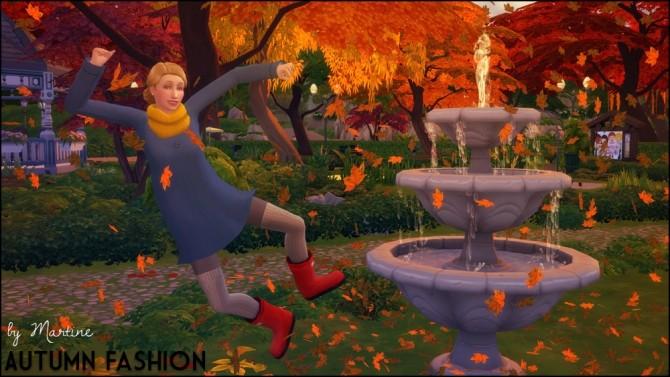 Sims 4 Autumn fashion at Martine's Simblr