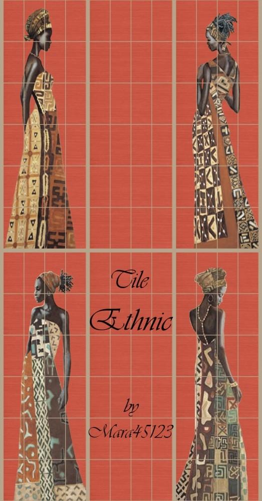 Ethnic tiles at Mara45123 image 14120 523x1000 Sims 4 Updates