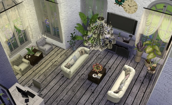 Sims 4 Jope oldwood floors at My little The Sims 3 World