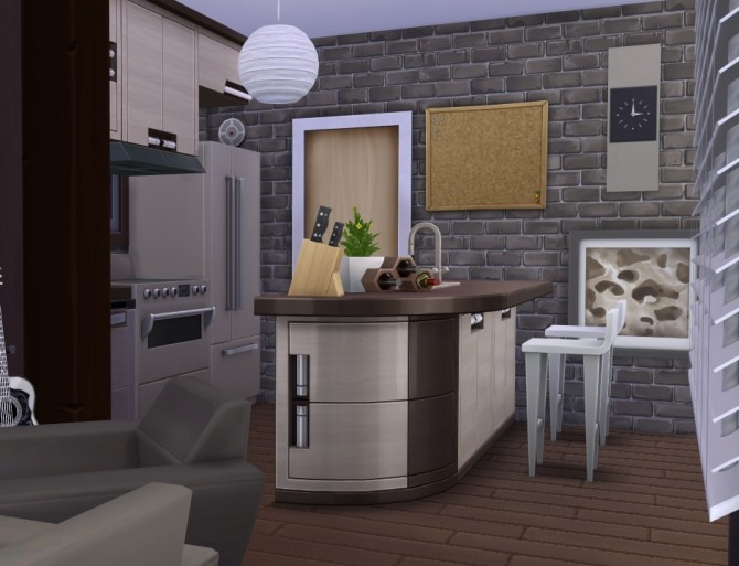 Magnifichic Simple house by Kiroh at Mod The Sims image 1421 670x513 Sims 4 Updates