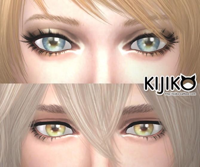 Sims 4 3D Lashes updated at Kijiko
