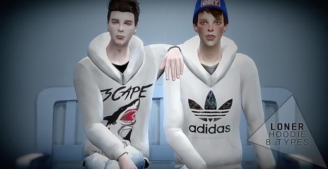 Sims 4 Hoodies at Loner