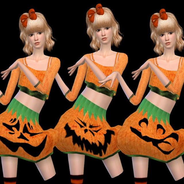 Halloween Set (hair + clothes) at Dachs Sims image 1566 Sims 4 Updates