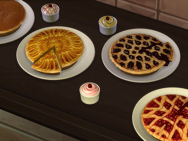 Sims 4 Country bio food Desserts by Kresten 22 at Sims Fans