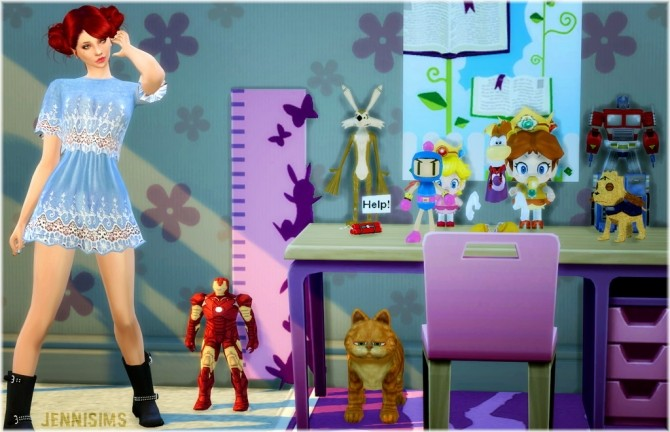 Decoration for kids Vol1 at Jenni Sims image 1586 670x432 Sims 4 Updates