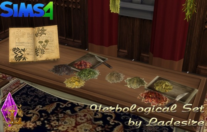 Herbological Set at Ladesire image 15910 670x427 Sims 4 Updates