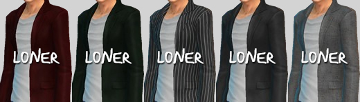 Sims 4 Male Coat & Chino Pants at Loner