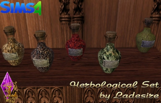 Herbological Set at Ladesire image 16410 670x427 Sims 4 Updates