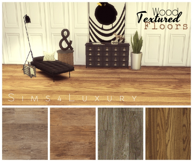 wood textured floors set 1 at sims4 luxury 187 sims 4 updates