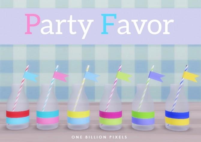 Sims 4 Party Favor Part 1 at One Billion Pixels