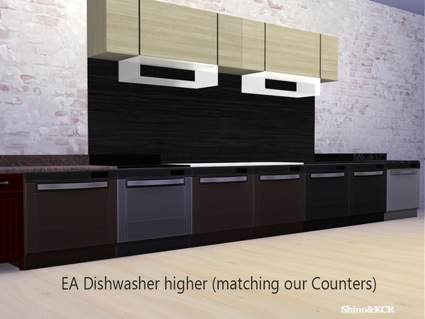 Counters for Dishwasher by ShinoKCR at TSR image 17 Sims 4 Updates