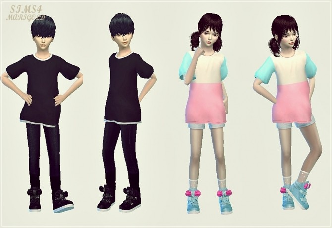 Child bow high top sneakers at Marigold image 17112 670x460 Sims 4 Updates