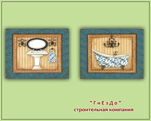Sims 4 Decoupage picture bathroom at Sims by Mulena