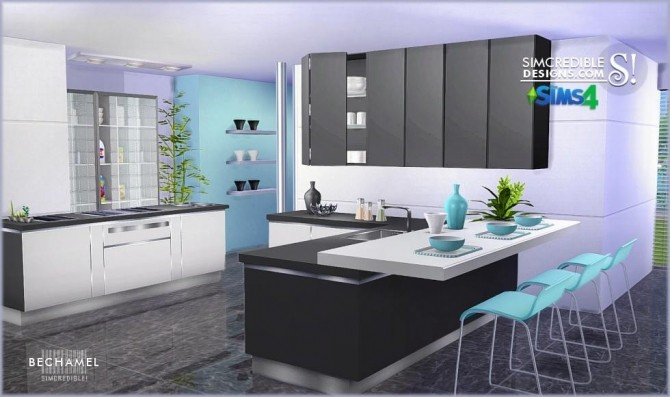 Sims  Kitchen Cabinets Cc