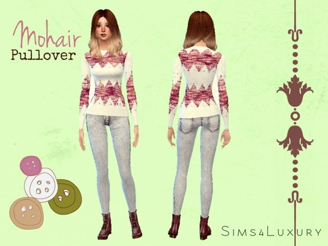 Mohair pullover at Sims4 Luxury image 18313 670x503 Sims 4 Updates