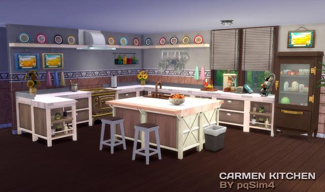 Carmen Kitchen At Pqsims4 Sims 4 Updates