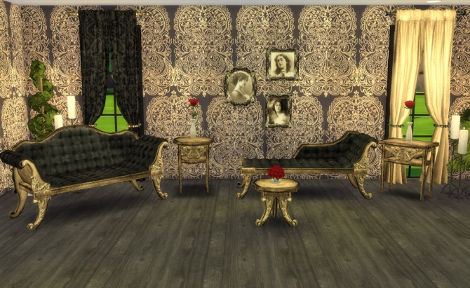 Adele Victorian Gothic Set Recolors By Ilona At My Little