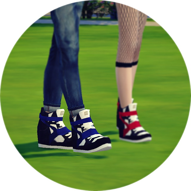 Sims 4 Male high top sneakers at Marigold