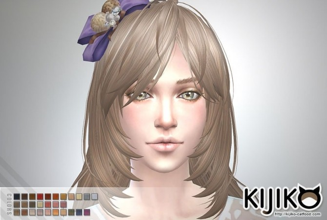 Long Layered Hair for females at Kijiko image 1994 670x450 Sims 4 Updates