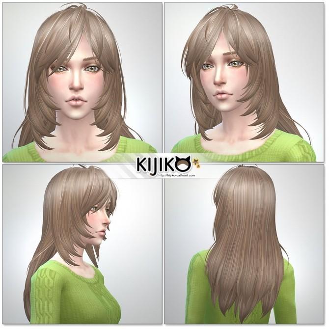 Long Layered Hair for females at Kijiko image 2004 670x670 Sims 4 Updates