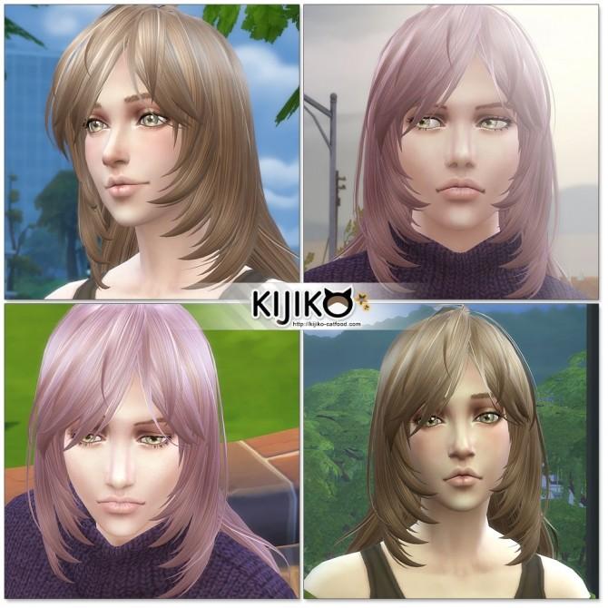Long Layered Hair for females at Kijiko image 2023 670x670 Sims 4 Updates