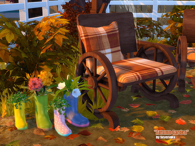 Autumn Garden at Sims by Severinka image 2087 Sims 4 Updates