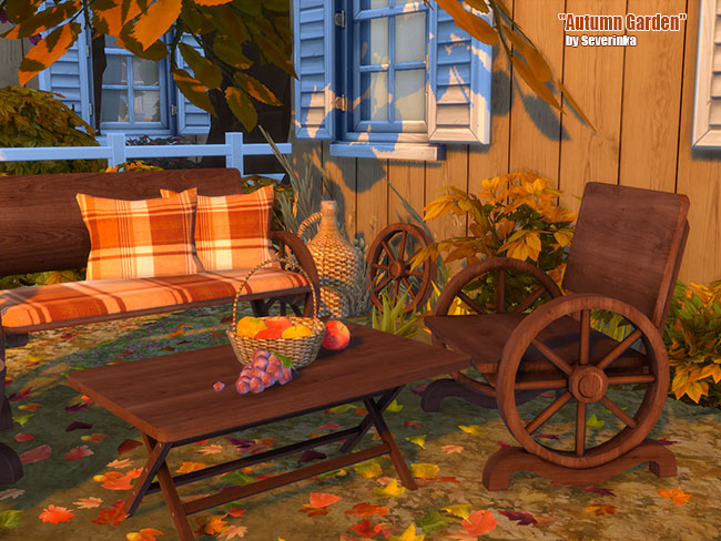 Autumn Garden at Sims by Severinka image 2097 Sims 4 Updates