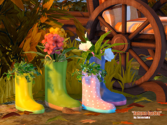 Autumn Garden at Sims by Severinka image 21010 Sims 4 Updates