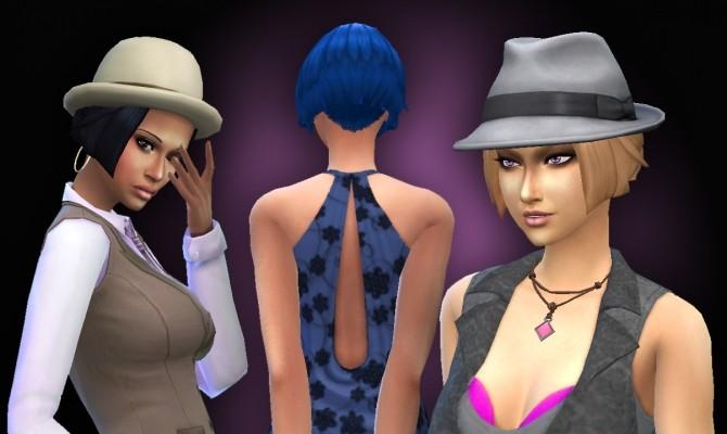 Sims 4 Short Straight Hair at My Stuff
