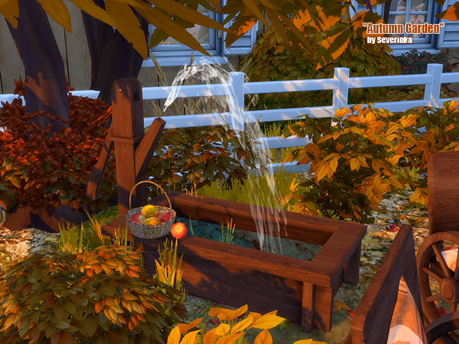 Autumn Garden at Sims by Severinka image 21112 Sims 4 Updates