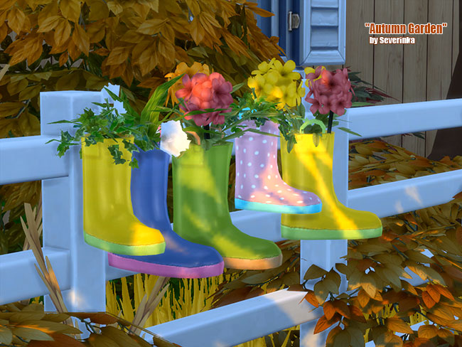 Autumn Garden at Sims by Severinka image 21212 Sims 4 Updates