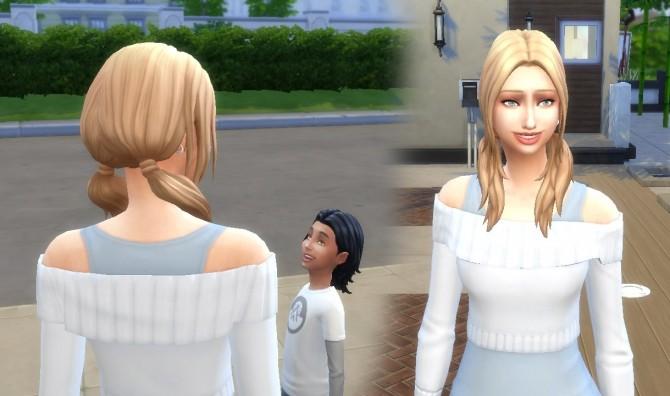 Sims 4 Loose Wavy at My Stuff