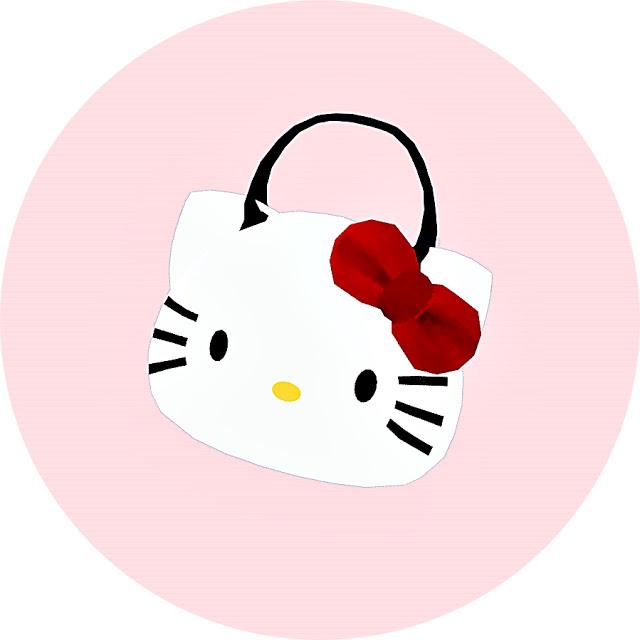 Sims 4 Kitty hand bag at Marigold
