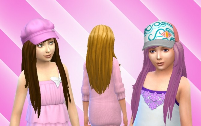 Cute Hair For Girls At My Stuff 187 Sims 4 Updates