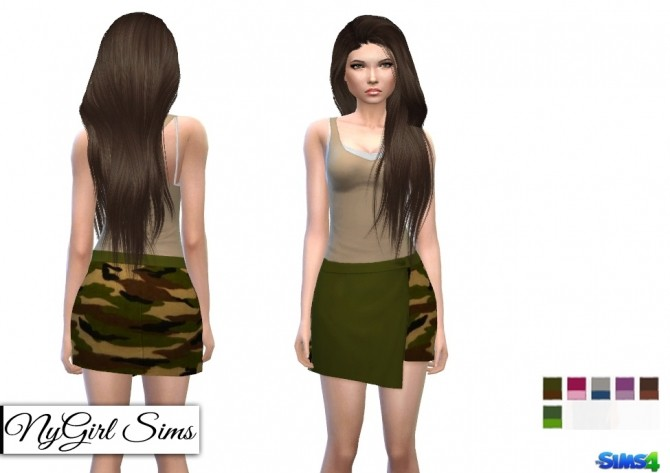 Sims 4 Fall Military Collection at NyGirl Sims