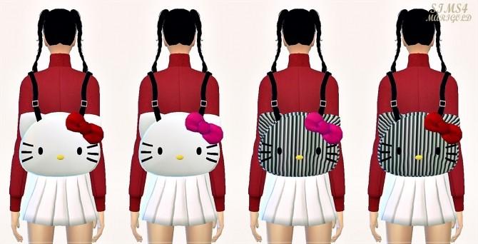 Sims 4 Kitty backpack at Marigold
