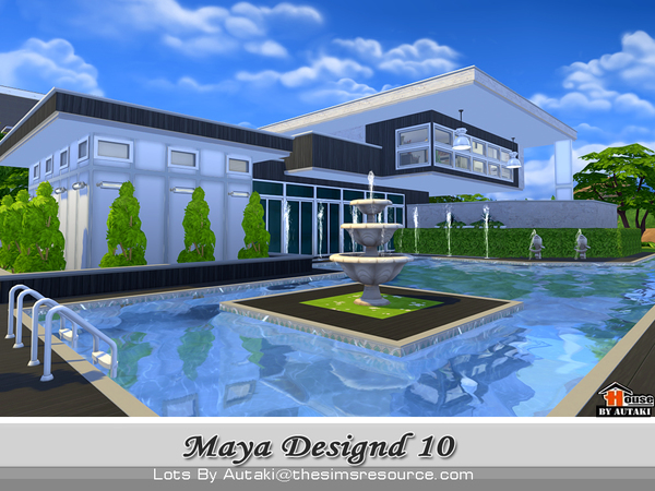 Sims 4 Maya Modern Design10 by autaki at TSR