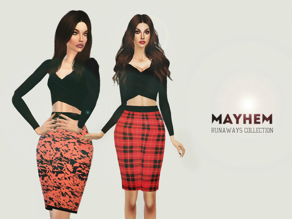 Sims 4 The Runaways Collection by NataliMayhem at TSR