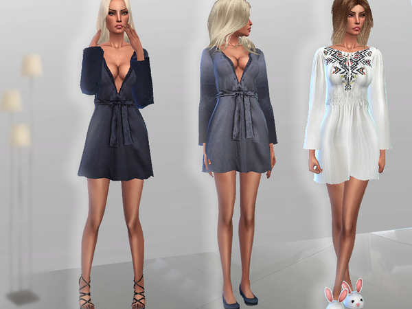 Sims 4 Morning Robes by Puresim at TSR