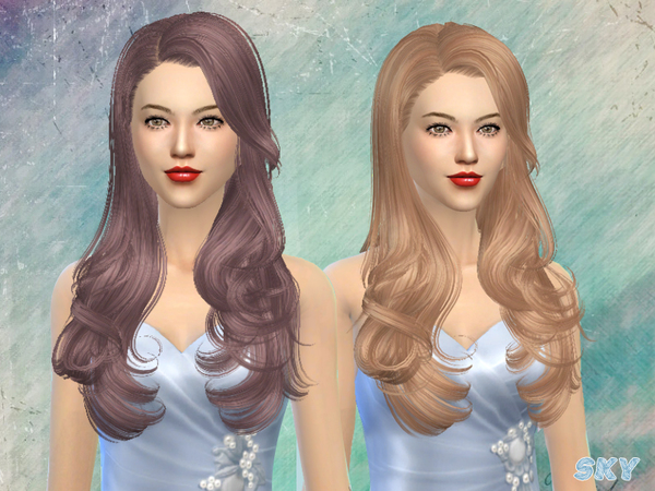 Hair 084 by Skysims at TSR image 248 Sims 4 Updates