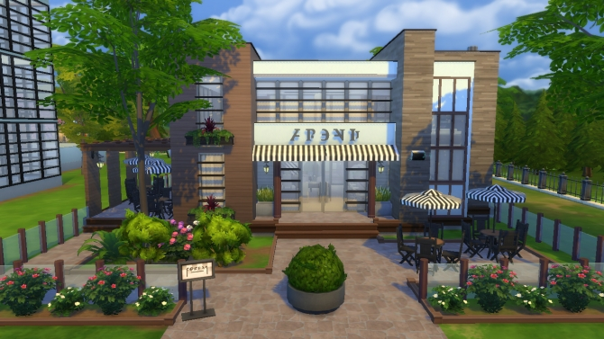 Cresta S Bar Amp Cafe By Rayanstar At Mod The Sims 187 Sims 4