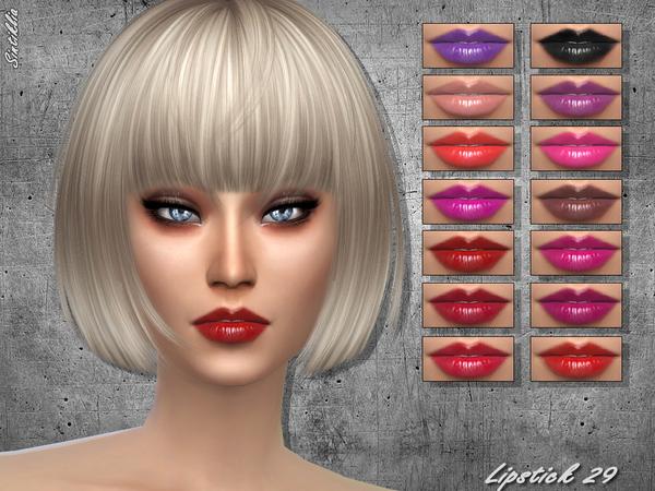 Sims 4 Lipstick 29 by Sintiklia at TSR