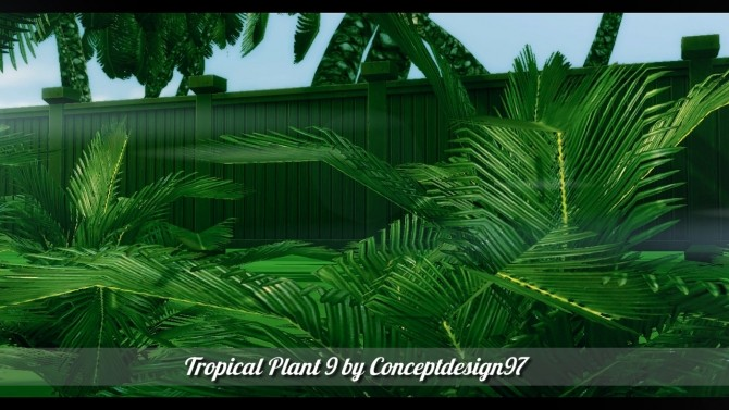 Outdoor Pack 5   10 Tropical Plants & 5 Palm Trees at ConceptDesign97 image 2811 670x377 Sims 4 Updates