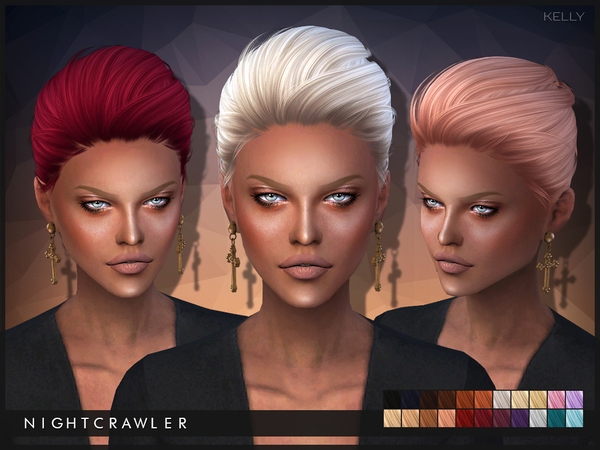 Kelly hair by Nightcrawler at TSR image 2817 Sims 4 Updates