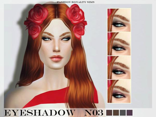 Sims 4 FRS Eyeshadow N03 by FashionRoyaltySims at TSR