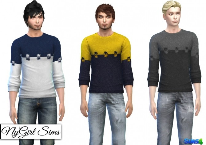 Fall Fashion Sweaters at NyGirl Sims image 330 670x473 Sims 4 Updates