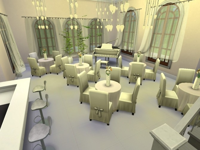 Adorable wedding venue by lalucci at Mod The Sims image 3317 670x503 Sims 4 Updates