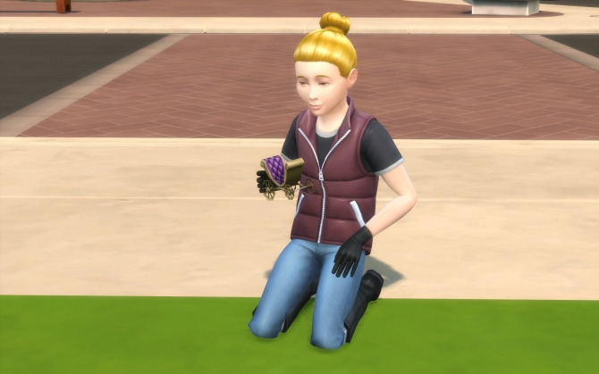 Child Leather Gloves By Iuser At Mod The Sims 187 Sims 4 Updates
