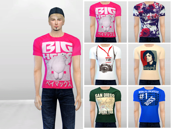Graphics 102 Tees by McLayneSims at TSR image 36 Sims 4 Updates