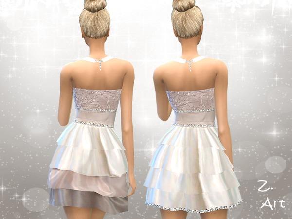 Sims 4 Heartbeat dress by Zuckerschnute20 at TSR
